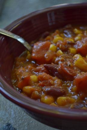Smoked Pumpkin Chili