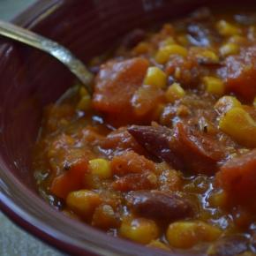 Smoked Pumpkin Chili