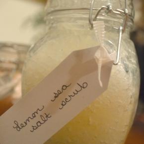 Lemony Sea SaltScrub