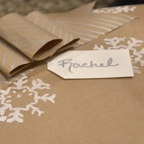 Homemade Christmas – Gift wrapping