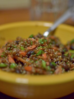 Southwestern Quinoa and Black BeanSalad