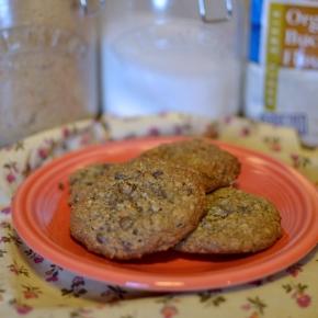 Brown Butter Buckwheat-Oatmeal Chocolate ChipCookies