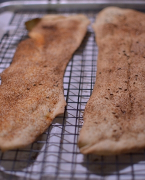 Sourdough Lavash Crackers
