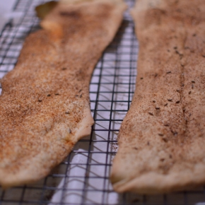 Sourdough Lavash Crackers