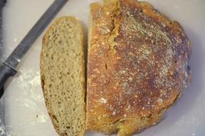 No-knead Sourdough RyeBread