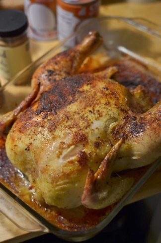 Oven roast chicken recipe
