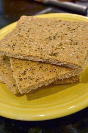 Daniel Fast whole wheat flatbread