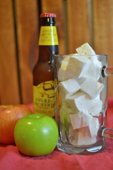 Hard Cider Marshmallows