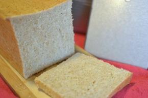 Soft honey wheat sandwichbread