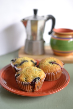 Fruit and yogurt muffins