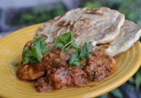 Simple chicken tikka masala (and the best butternaan)